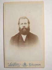 Lutheran-Man with Beard-Beard-Portrait/Cdv