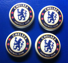 CHELSEA FOOTBALL CLUB PINBACK BADGE SET COLLECTIBLE FC BUTTON PIN LOT