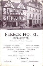 Cirencester. Fleece Hotel. L.T.Campion, Proprietor.