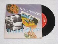 BRUCE SPRINGSTEEN TUNNEL OF LOVE SPANISH ORIGINAL ISSUE 7""