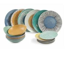 Villa d'Este Home Marea 15 Piece Porcelain Dinnerware Set, Service for 5