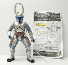 "FORCE BATTLERS JANGO FETT 6"" Action Figure 2005 Star Wars complete Hasbro"