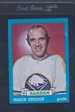 1973/74 Topps #108 Roger Crozier Sabres NM/MT *739