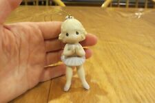 Precious Moments ballerina ornament - Lord, Keep Me On My Toes new, unused with