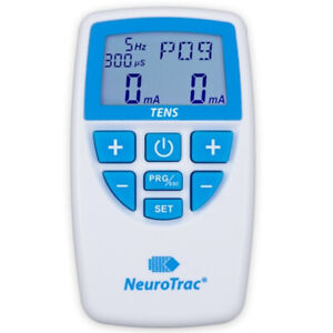 NEUROTRAC 2 CHANNEL TENS  MACHINE FOR PAIN RELIEF + BONUS GIFT OF 12 ELECTRODES