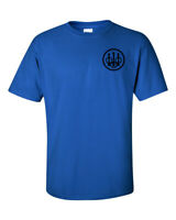 Beretta Circle Black Chest Logo T Shirt 2nd Amendment Pro Gun Rifle Pistol Tee