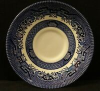 """Vintage Blue Willow Saucer Stamped CC Made in England On Back 5.5"""""""