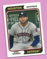 2020 Topps Archives George Springer #154 Houston Astros