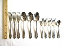 Mixed Lot 11x Amefa Holland AFS1 Stainless Flatware Dinner Tea Spoon Salad Fork