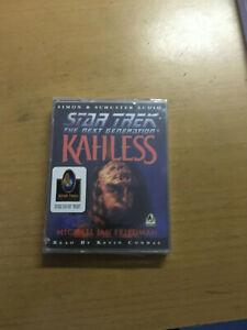 STAR TREK KAHLESS - SEALED DOUBLE CASSETTE AUDIO BOOK