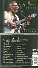 CD - GEORGES MOUSTAKI : Le meilleur de GEORGES MOUSTAKI EN CONCERT /NEUF EMBALLE