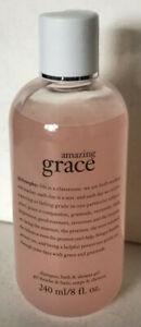 PHILOSOPHY AMAZING GRACE SHAMPOO, SHOWER GEL & BUBBLE BATH 240ML SALE