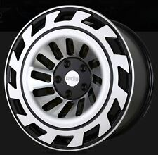 19X8.5/10 Radi8 T12 5x112 +45/42 Black Rims Fits Mercedes E350 E550 2011+