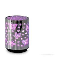 BUTTERFLY & FLOWERS COLOUR CHANGING TABLE NIGHT LAMP STOCKING FILLER GIRLS BOYS