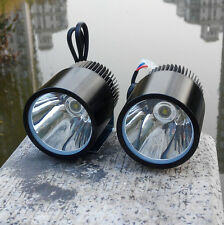2X 12V 30W U3 LED Spot Light Motorcycle Car boat Off Road Waterproof headlight