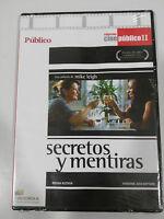 SECRETOS Y MENTIRAS DVD SLIM ESPAÑOL REGION 2 ENGLISH
