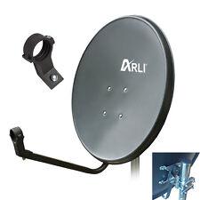 60cm Sat Antenne Anlage Satellitenschüssel HD Digital satellit Spiegel 4K grau