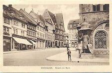 Nordhausen, Roland und Markt, verschiedene Geschäfte, 1921