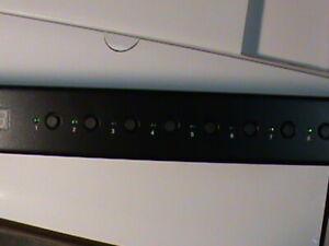 TRIPP LITE 8-Port DVI KVM W/Audio USB Hub B043-DUA8-SL