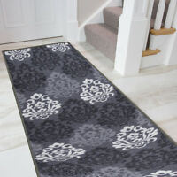 "Boarders Rugs Anti-Bacterial Rubber Back  Runner Non-Skid/Slip 20x59"" runner Rug"