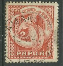 Birds Used Papua New Guinean Stamps