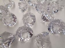 100 PCs 24mm Acrylic Crystal Bead Diamond Drops Wedding Decorations Chandelier