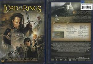 DVD: LOT OF 3 LORD OF THE RINGS...FELLOWSHIP-TWO TOWERS-RETURN OF KING