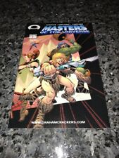 MASTERS OF THE UNIVERSE #1 RARE GRAHAM CRACKERS VARIANT WITH COA!!