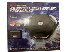 ION ISP106 WAVE RIDER Blue waterproof floating boombox with  LED illumination