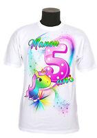tee shirt anniversaire personnalisable chiffre et  prénom au choix réf AN04
