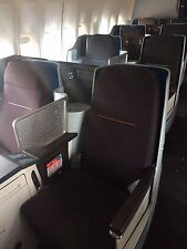 Klm Royal Dutch Airlines Boeing 747-400 New World Business Class Seats