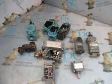 HONEYWELL GLAA01A2A CLASS 9007 TYPE C54D VAR. PARTS FOR LIMIT SWITCH LOT OF 11