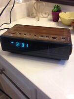 Vintage Panasonic RC-65 AM/FM Alarm Clock Digital Radio Works!  Super COOL! 70's