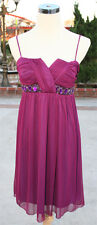 WINDSOR Berry Homecoming Party Dance Dress M - $67 NWT