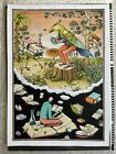 Interesting fairytale - Waone (Interesni Kazki) - Hand Painted Print