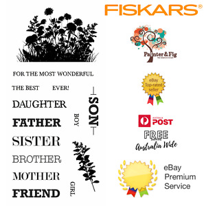 Family Stamps - Father's Day, Relatives, Mother, Son, Daughter, Sister, Brother
