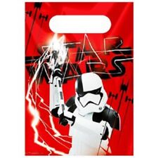 PACK OF 10 STAR WARS THE LAST JEDI PARTY BAGS