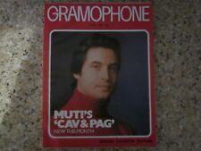 April 1980, THE GRAMOPHONE, Riccardo Muti, Hildegarde Behrans, Murray Perahia.