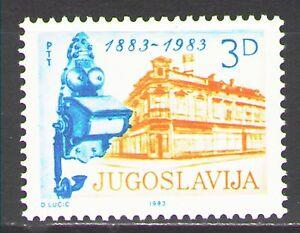 Yugoslavia1983 Sc1617  Mi1975  1v  mnh  Serbian Telephone Service Cent.