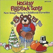 Holiday Piggyback Songs from Kimbo Educational (CD, 1998)