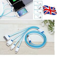 4 in1 Universal Multi Function USB Charging Charger Cable Cord For Mobile Phones
