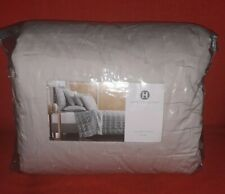 hotel collection opalescent oyster quilted full/queen comforter