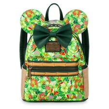 Brand New - Minnie Mouse The Main Attraction Mini Backpack Enchanted Tiki Room