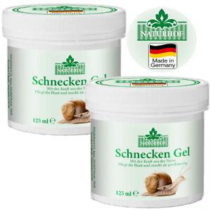 Schnecken Gel Anti Aging Balsam aufbauendes Haufpflege Naturhof 125ml 2er Pack