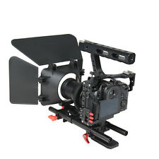 Pro Handle DSLR Rig Stabilizer Video Camera Rig Cage Kit For GH4 A7S Camera