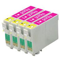 4 Light Magenta Ink Cartridges for Epson Stylus R220 R320 R340 RX300 RX500 RX620