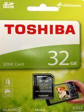 32gb SD Scheda Di Memoria Toshiba per Canon LEGRIA HF r306 Camcorder