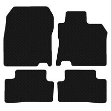 Carsio Black Floor 3mm Rubber Tailored Car Mats FOR Nissan Qashqai 2014 Onwards