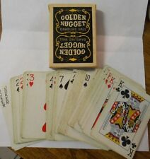 Vintage Golden Nugget Gambling Hall used playing cards