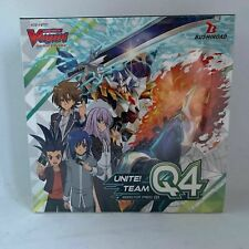 Cardfight Vanguard Unite Team Q4 Booster Box Factory Sealed English NEW